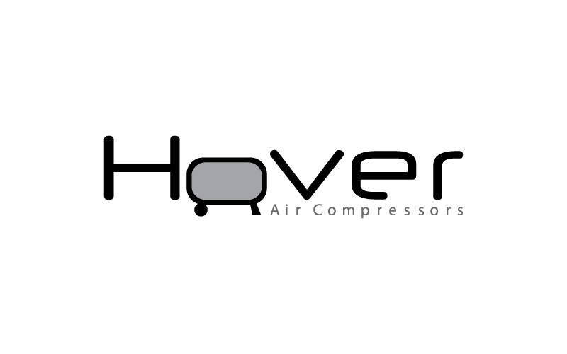 Air Compressors Services Logo Design