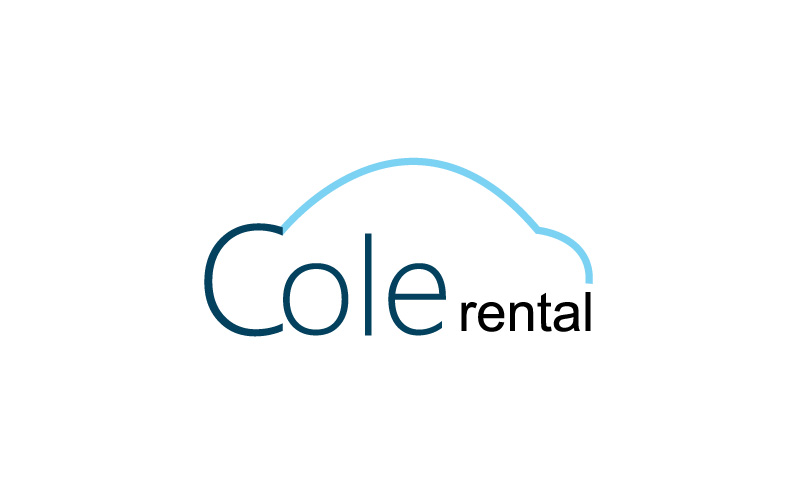 car rental logo design