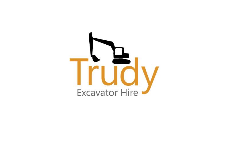 Excavator Hire Logo Design