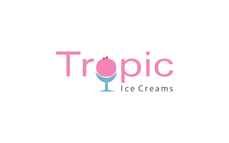 Ice Cream Suppliers Logo Design