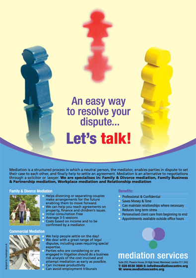 Mediation Company Press AD Designs
