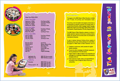 Nursery School Brochure Designs