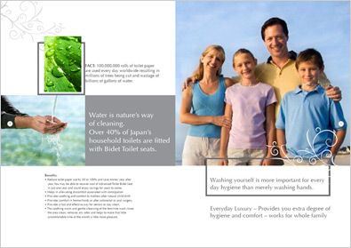 Ayurveda Resort Brochure Designs