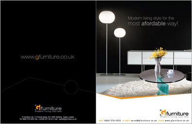 Furniture Company Brochure Design