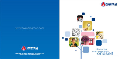 group of company brochure design