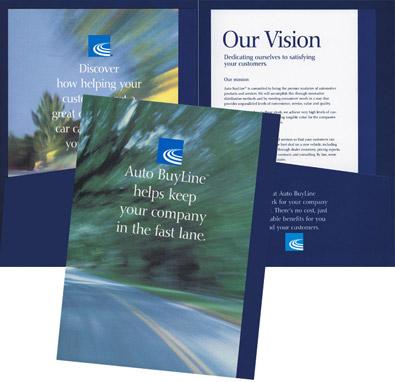 Insurance Company folder design
