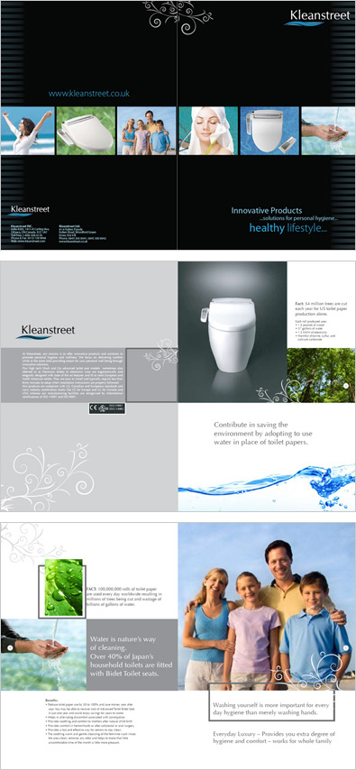 kleanstreet Broucher Design