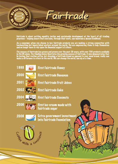fairtrade Flyer design