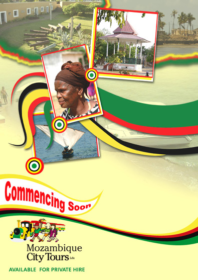 mozambique Flyer design