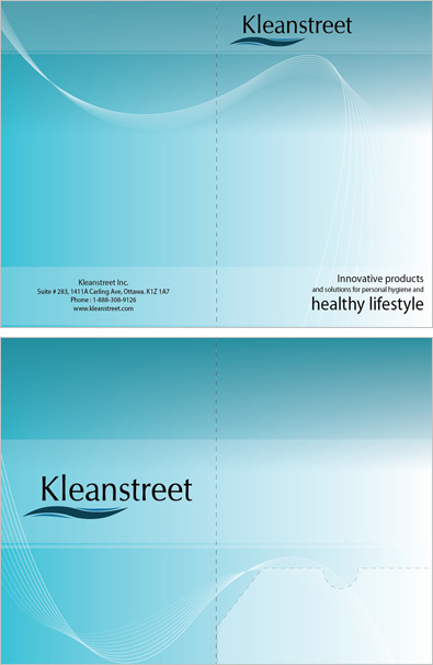 klean street presentation folder