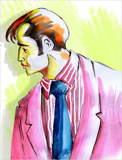 Manual painting fashion illustrations