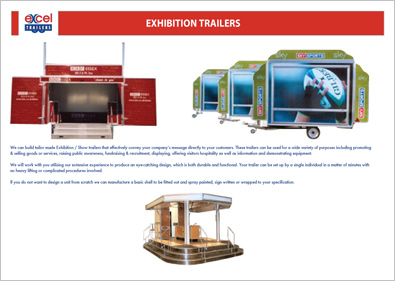 Trailer Company Brochure Design
