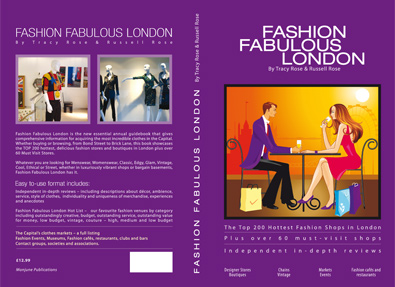 Fashion Review Book Design