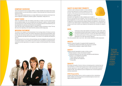 Oil Company Brochure Design