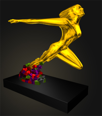 3D Trophy Design
