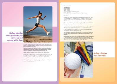 Sports Company Brochure