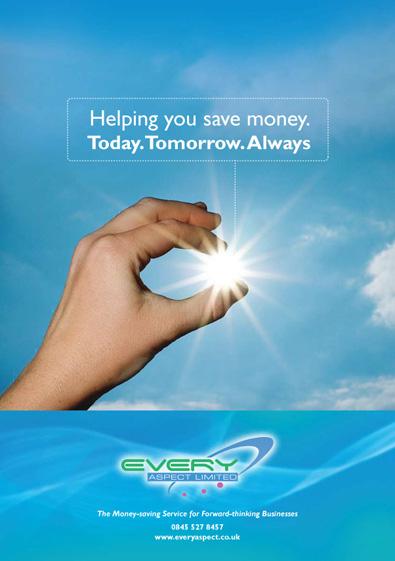 Energy company poster