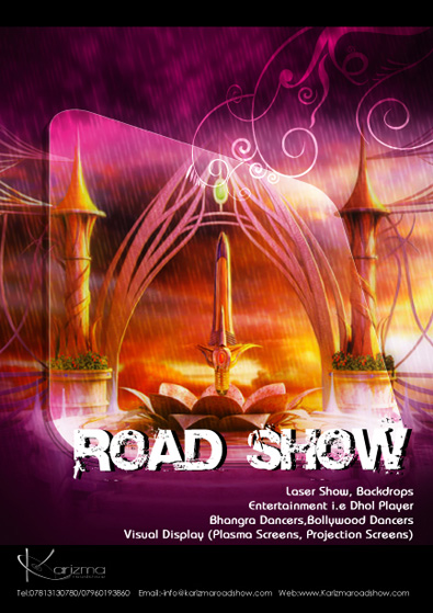 Road Show Poster Design