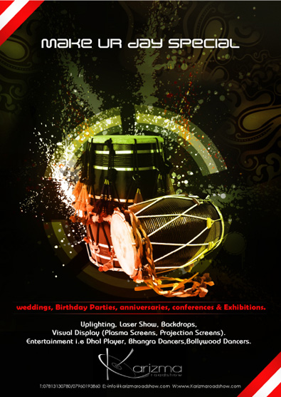 DJ Poster Design