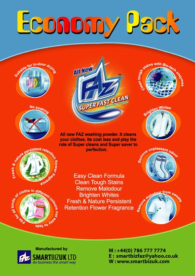 Washing powder Flyer designs