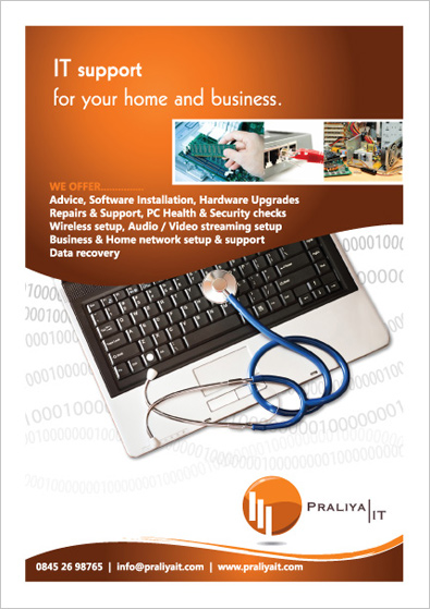 IT company Flyer Design