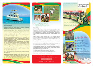 Flyer Design For Tour Operator 