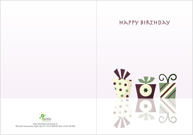 Birthday Card Design