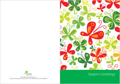 Company Greeting Card Design
