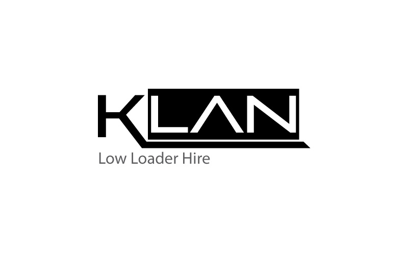Low Loader Hire Logo Design