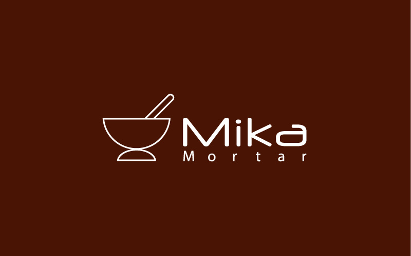 Mortar Logo Design