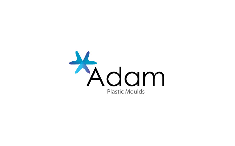 Plastic Moulds Logo Design