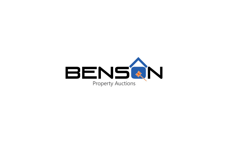 Property Auctions Logo Design