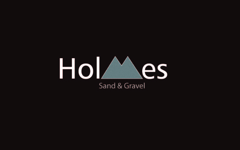 Sand & Gravel Suppliers Logo Design