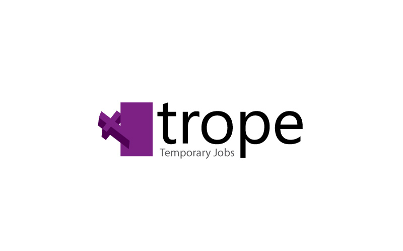 Temporary Jobs Logo Design