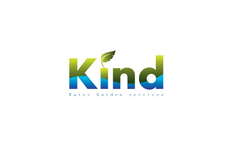 Water Garden Services Logo Design