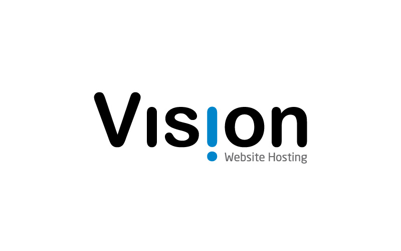 Website Hosting Logo Design